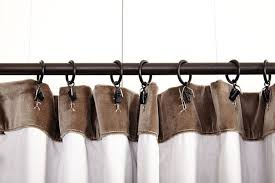 best way to hang curtains how to hang curtains with clip rings www elderbranch com