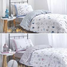 Duvet 100 Cotton Childrens Single Duvet Covers Childrens Nordic Winter Scene 100