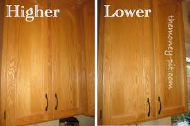 How To Install Cabinet Doors by Updating Cabinets With Door Hardware The Kim Six Fix
