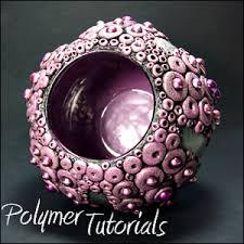 Polymer Clay Vases Vase Tutorial Sea Urchin Polymer Tutorials