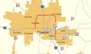 Az Zip Code Map Arizona State Route 101 Wikipedia