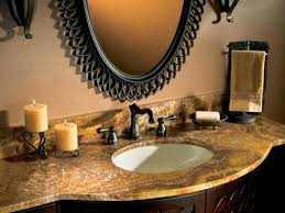 Bathroom Countertop Decorating Ideas by Bathroom Counter Designs 25 Best Ideas About Granite Bathroom On