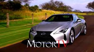 lexus lc 500 review motor trend 2018 lexus lc 500 l beauty shots l clip youtube