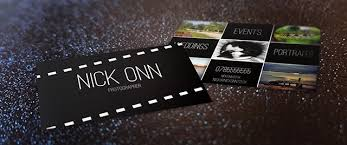 free business card templates for photographers photographer s business card free template tutorial