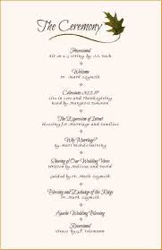 wedding reception program 7 wedding reception program formal letter