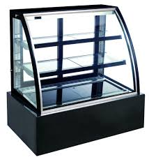 syki740a bakery refrigerator showcase clear glass display case