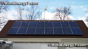 Small Wind Turbines For Home - hybrid wind solar energy system home wind turbine