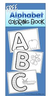 free alphabet coloring sheets