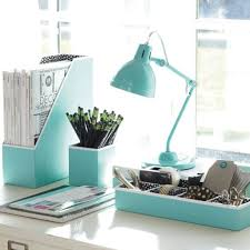 Blue Desk Accessories Desk Accessories And You Look Office Decor And You Look