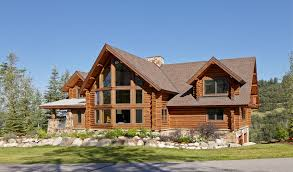 practical lighting tips for log homes log retreat blends modern accents and spectacular views