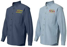 us army custom embroidered denim shirts us army custom caps and