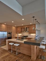 types of kitchen islands this zen kitchen houzz grain and wood type on cabinets