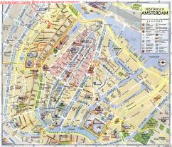 Amsterdam Map Europe by Map Of Amsterdam Amsterdam City Tourist Map See Map Details From