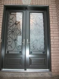Metal Front Doors For Homes With Glass by Double Front Exterior Doors Fiberglass Fiberglassdoors Com 8