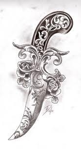 dagger tattoo images u0026 designs