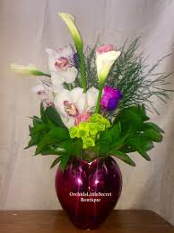 orchid bouquet heart orchid bouquet in placentia ca orchids secret