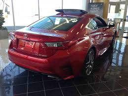 2015 lexus rc 350 awd f sport for sale new 2015 lexus rc 350 awd 6a for sale in kingston lexus of