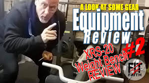 gold u0027s gym xrs 20 olympic weight bench and squat rack review