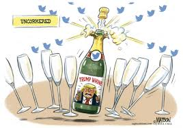 champagne celebration cartoon political cartoons weinstein tricks nra corker climate