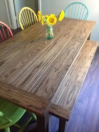 Oak Furniture Dining Tables Appalachian Red Oak Dining Table Rustic Dwelling