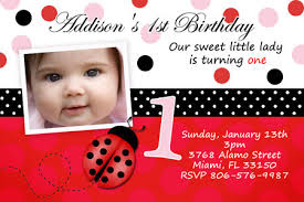 birthday invitation for first birthday gallery invitation design