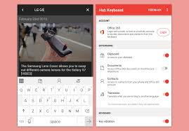 microsoft access for android new android app of microsoft that puts office 365 in the keyboard