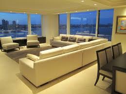 trump living room trump condo