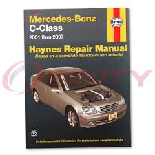 mercedes c230 haynes repair manual sport kompressor shop service