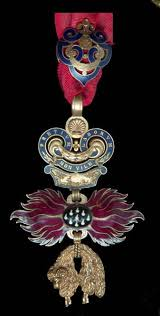 order of the golden fleece collector s copy of the neck badge
