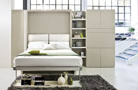 fold away furniture storage wall with fold away bed nuovoliolá 10 by clei design
