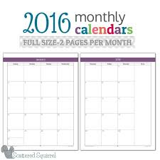 25 unique monthly calender ideas on pinterest free printable
