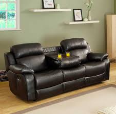 Reclining Sofa With Console by 119617832 Jpg