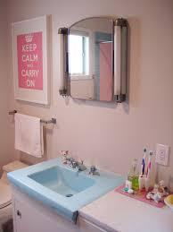 our pink u0026 blue bathroom you can see the original pink u0026 b u2026 flickr