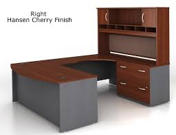 Bush Office Desks Bush Series C U Shaped Executive Office Desk With Hutch