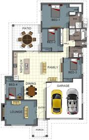4 Bedroom House Plans With Double Garage Homes Zone