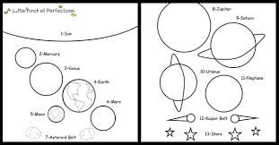 stem preschool activity universe free printable
