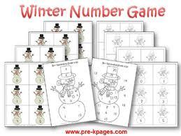 winter theme activities for preschool