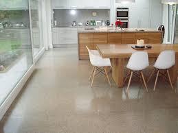 Concrete Kitchen Floor by Polished Concrete Floor Polishing A Concrete Floor Concrete