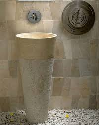 contemporary interior toilet fixture ideas freestanding granite