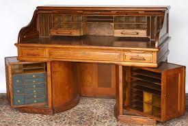 Small Oak Roll Top Desk Small Rolltop Desk Decoration Home Design Ideas