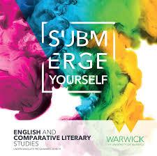 english and theatre studies 2018 undergraduate university of