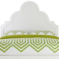 Full Size White Headboards by Missoni White Camelback Upholstered Headboard