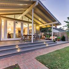 chicago solid wood platform deck transitional with build firms