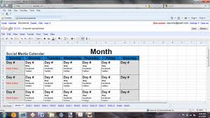 social media planner 8 best images of social media planning calendar social media