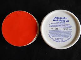 288 orange aquacolor kryolan