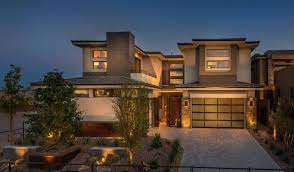 new luxury homes at the ridges in summerlin plan 3