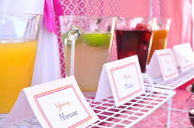 Pink Cocktails For Baby Shower - enchanted events u0026 design event recap cocktail bridal shower