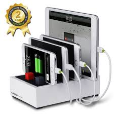 avantree desktop multiple devices usb charging station 4 port 4 5a