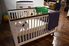 Grayson Convertible Crib by Babyletto Lolly 3 Drawer Dresser Black With Washed Natural 0