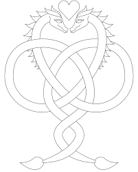 don u0027t eat the paste dragon love coloring page